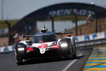 Le Mans test day Toyota #7