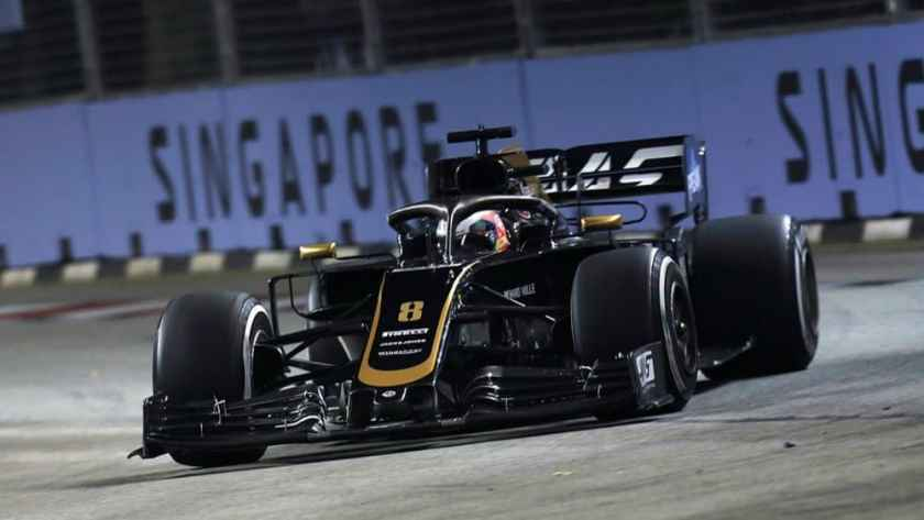 qualifiche gp singapore haas