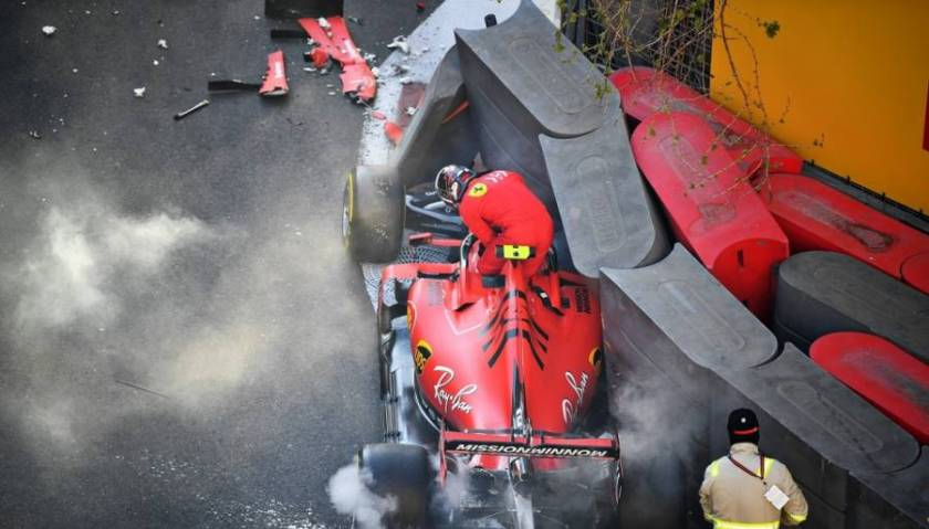 Ferrari crash test