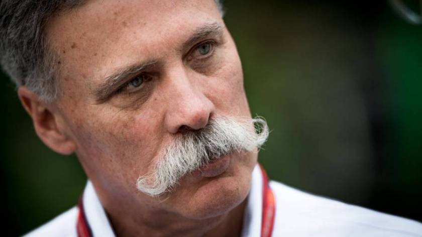 Chase Carey parla della modifica calendario F1