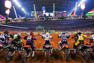 Supercross ripresa