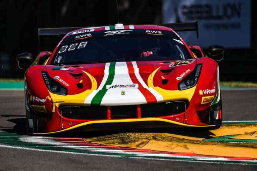 GT world challenge Ferrari