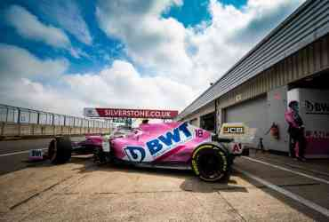 racing point silverstone gp gran bretagna stroll perez 2020