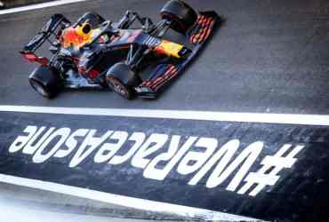 F1 Silverstone Red Bull