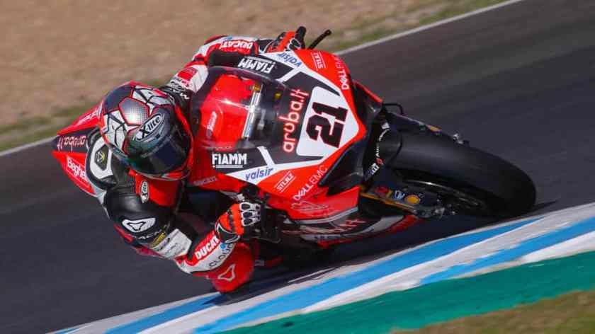Superbike test jerez