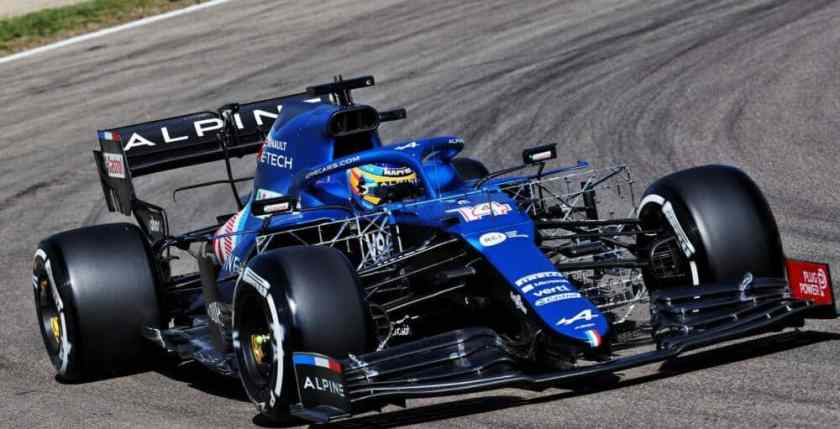Alonso Alpine GP Imola qualifiche