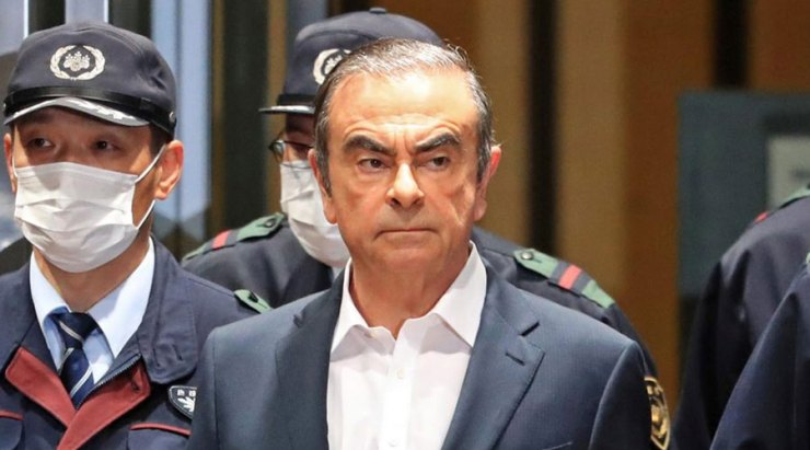 CARLOS GHOSN'S ESCAPE FROM JAPAN