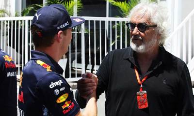 BRIATORE VERSTAPPEN MUST LEARN TO KEEP HIS MOUTH SHUT