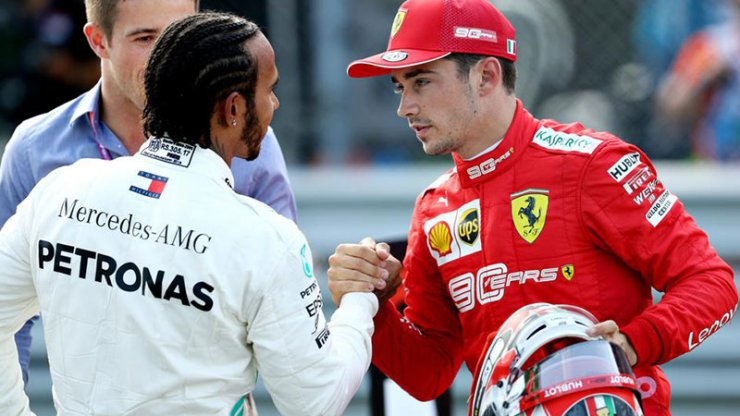 FERRARI WILL NOT PITCH LEWIS AGAINST LECLERC 2021