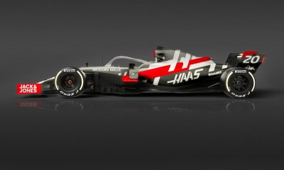 HAAS F1 TEAM HAS CONFIRMED THE VF-20 IN THE BARCELONA