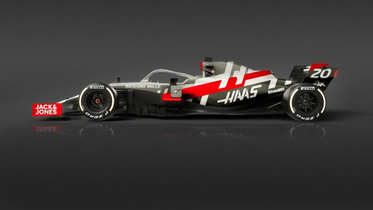 HAAS F1 TEAM HAS CONFIRMED THE VF-20