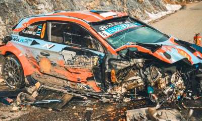 L'incroyable accident d'Ott Tänak au rallye de Monte Carlo 2020