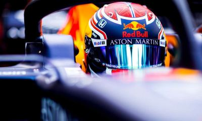 RED BULL WE THANK ASTON MARTIN FOR THEIR SUPPORT
