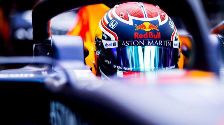 Red Bull : We thank Aston Martin for their support