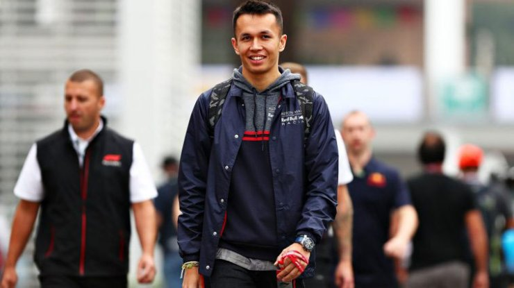 THE HONEYMOON PERIOD IS NOW OVER FOR ALEXANDER ALBON
