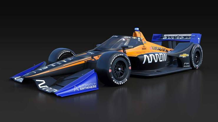2020 INDYCAR : MCLAREN SP TEAM HAS LAUNCHED ITS OFFICIAL LIVERY