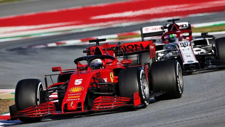 BARCELONA TEST 5 F1 2020: VETTEL FASTEST
