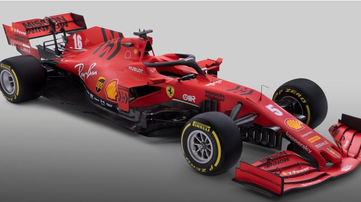 FERRARI HAS OFFICIALLY LAUNCHED ITS 2020 CAR, NAMED THE SF1000