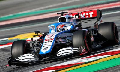 GEORGE RUSSELL HAS SPOKEN IN PRAISE OF HIS NEW WILLIAMS