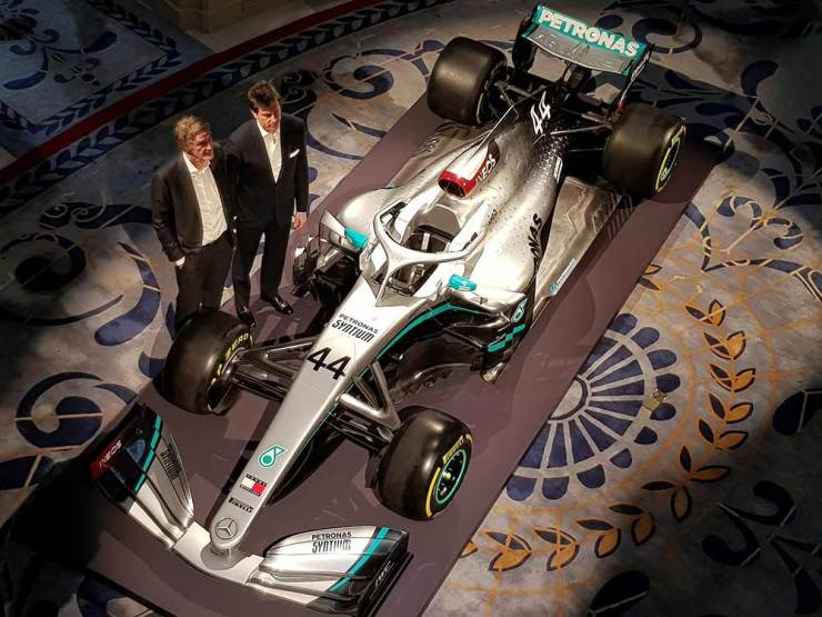 mercedes has officially launched the livery 2020 w11