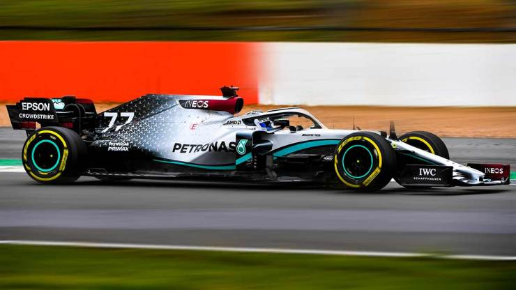 MERCEDES F1 2020 W11 HAS MADE ITS ON-TRACK DEBUT