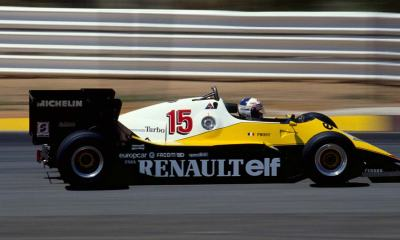 RENAULT F1 2020 BACK TO LIVERY FROM THE 80S