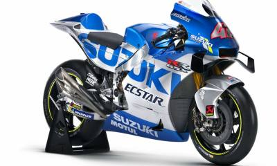 SUZUKI MOTOGP 2020 : LIVERY TO CELEBRATE 60 YEARS OF RACING