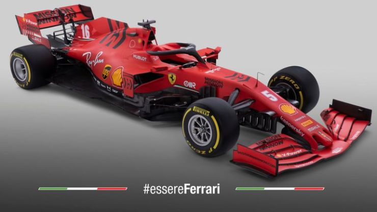 ferrari sf1000 en direct