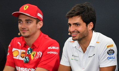 OFFICIAL F1 DRIVER CARLOS SAINZ HEADS TO FERRARI IN 2021