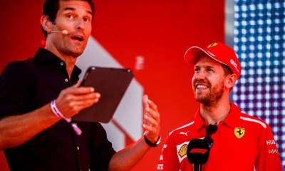 MARK WEBBER : VETTEL UNLIKELY TO JOIN MIDFIELD TEAM IN 2021