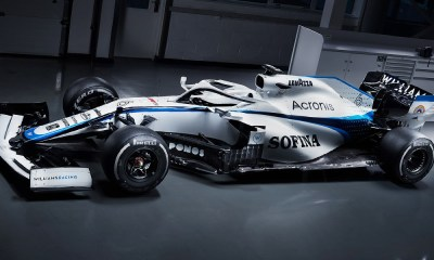 NEW LOOK FOR THE SEASON AHEAD FOR WILLIAMS RACING