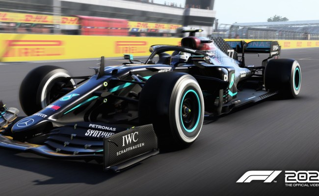 F1 2020 The Black Livery Of The Mercedes W11 Added To
