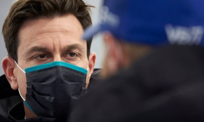 F1 MERCEDES TOTO WOLFF WE SEEM TO HAVE AN ISSUE