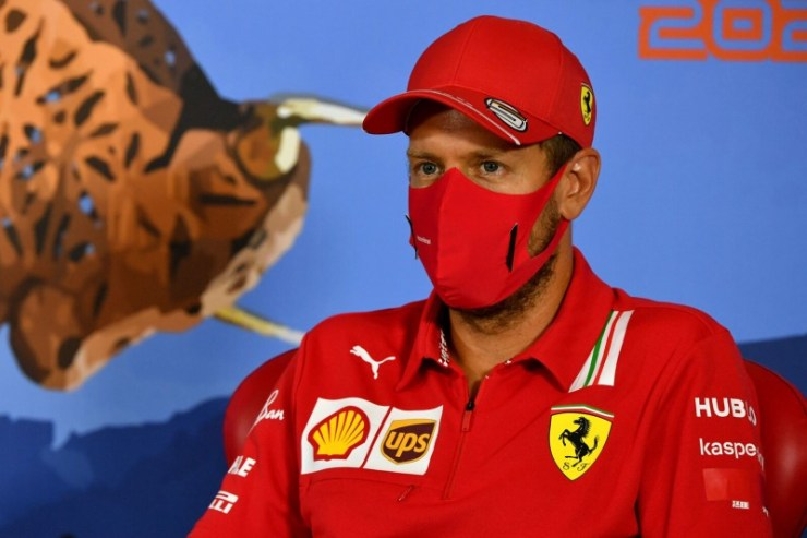 ferrari didn't even offer a contract at vettel to continue in 2021