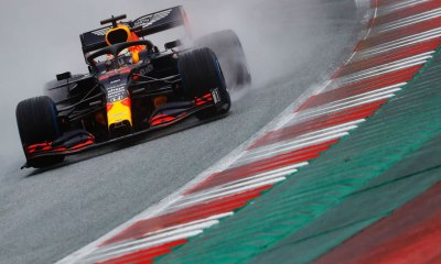 VERSTAPPEN : WE JUST COULDN'T SEE ANYTHING