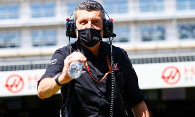 F1 HAAS - GUENTHER STEINER RESPECT IS IN YOUR HEART NOT ON A T-SHIRT