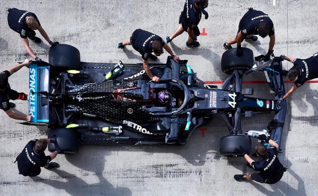 F1 Mercedes W11 Taps No Less Than 1022 Hp In Qualifying