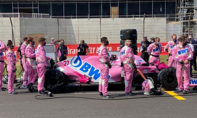 RACING POINT REPRIMANDED AFTER THE GRAND PRIX OF THE 70TH ANNIVERSARY