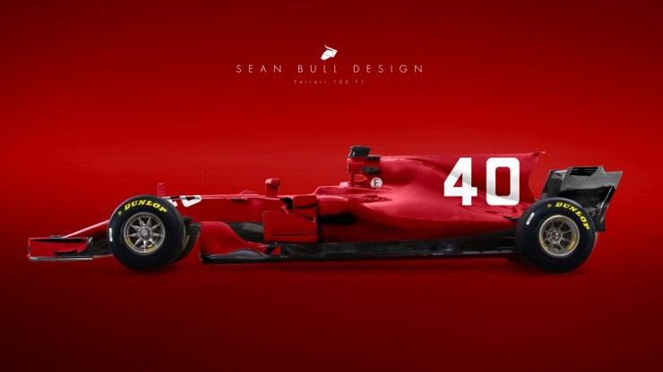 FERRARI IS GOING TO CELEBRATE ITS ANNIVERSARY 1950-LIVERY FOR MUGELLO GP