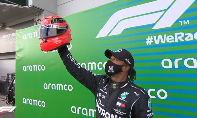 F1 HAMILTON EQUALS SCHUMACHER S RACE WIN RECORD AT EIFEL GP