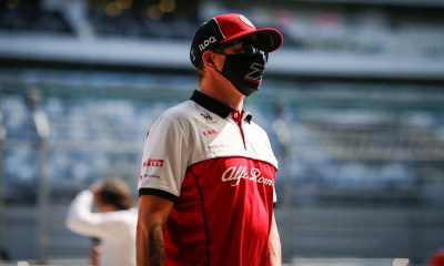 KIMI - A FRESH CONTRACT TO STAY WITH ALFA ROMEO IN 2021