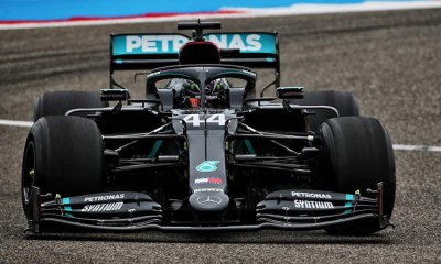VETTEL AND HAMILTON NOT IMPRESSED WITH 2021 F1 TYRES