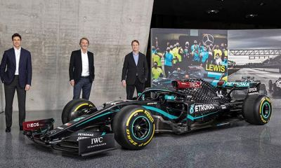 INEOS BUYS INTO THE MERCEDES F1 TEAM
