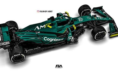 ASTON MARTIN RETURNS TO FORMULA 1 WITH COGNIZANT AS TITLE PARTNER