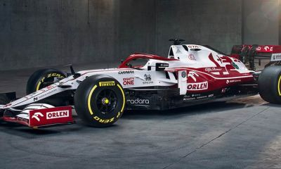 BREAKING - ALFA ROMEO UNVEIL THEIR F1 2021 CAR