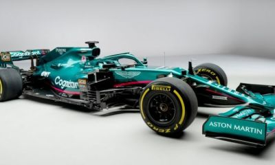 ASTON MARTIN AIMS FOR F1 WORLD TITLE