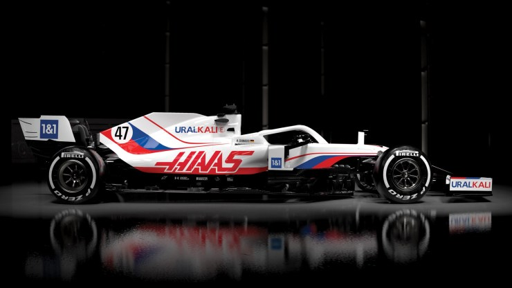 HAAS F1 TEAM LIVERY 2021 UNDER INVESTIGATION BY WADA