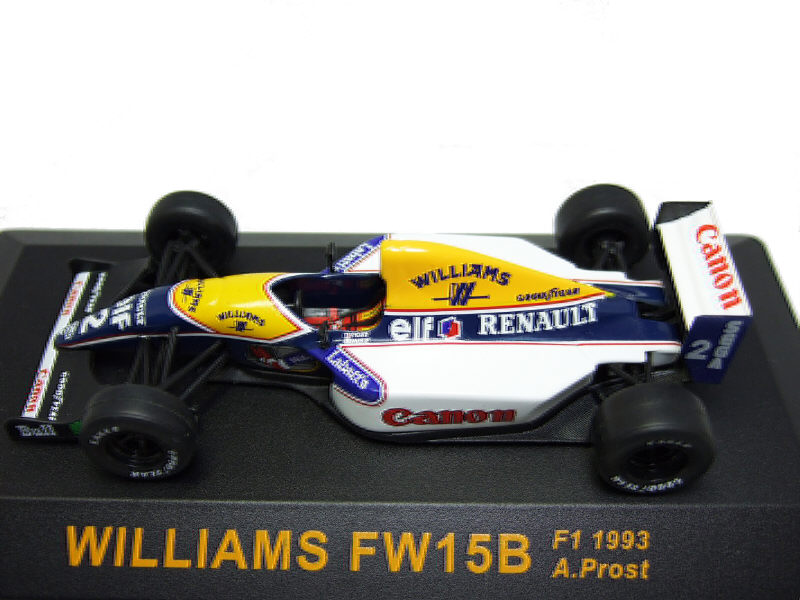 Williams FW15B F1 1993 Alain PROST