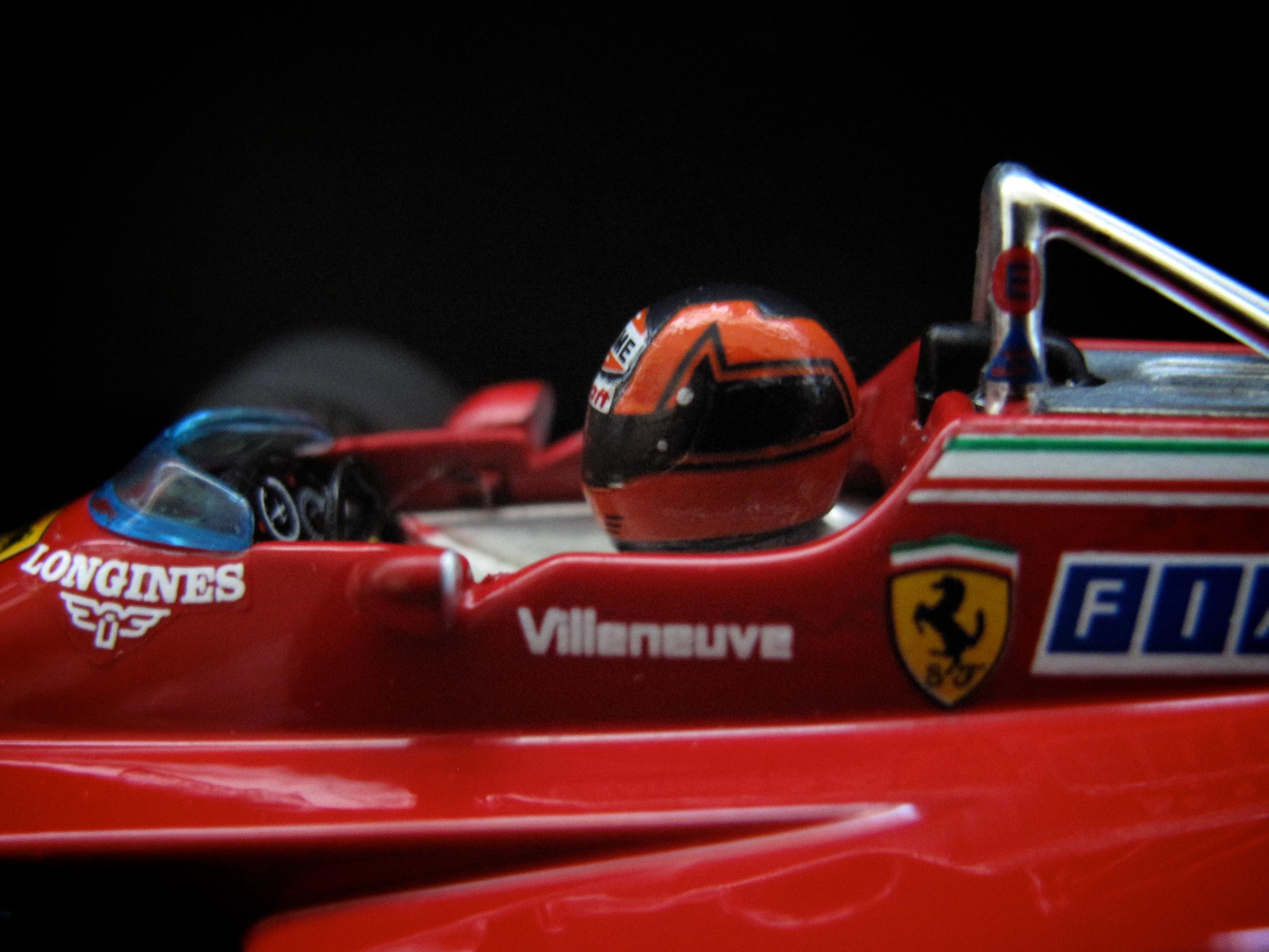 1982 GILLES VILLENEUVE  f1minichampions