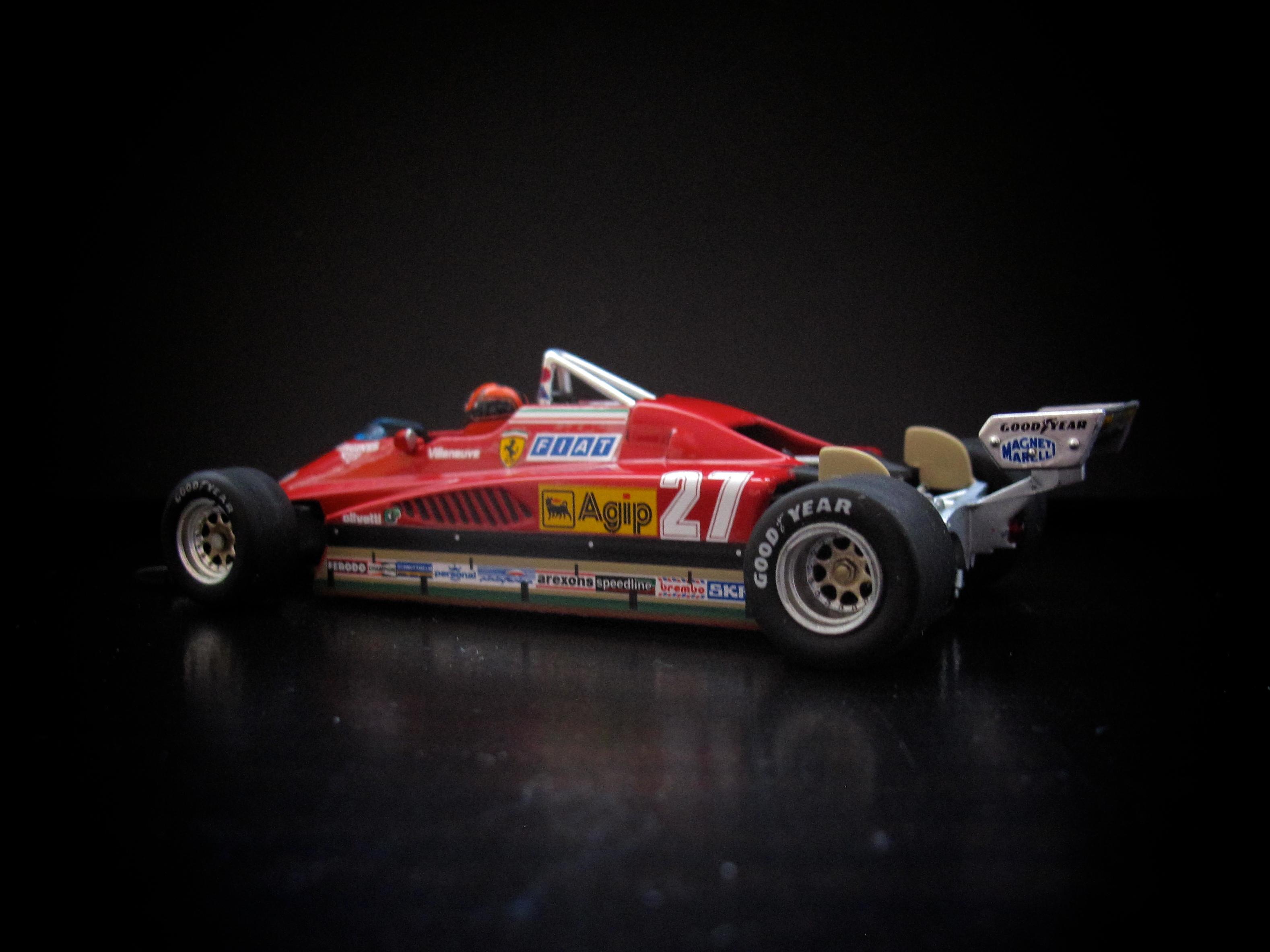 Villeneuve F1 1982